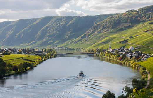 Moselle near Piesporter