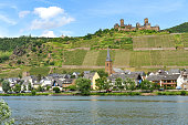 Alken village in the Moselle valley, Germany