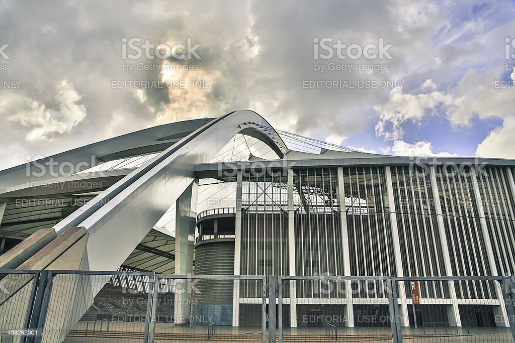 Moses Mabhida Stadium royalty-free stock photo