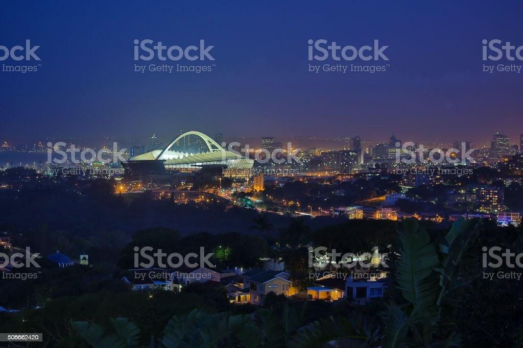 Moses Mabhida Stadium stock photo