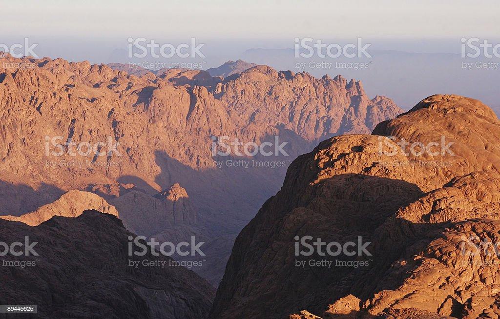 Moses mountain 2 royalty-free stock photo