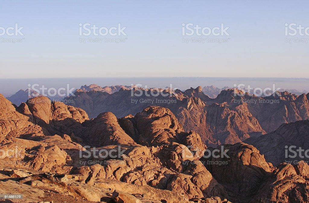 Moses mountain 3 royalty-free stock photo