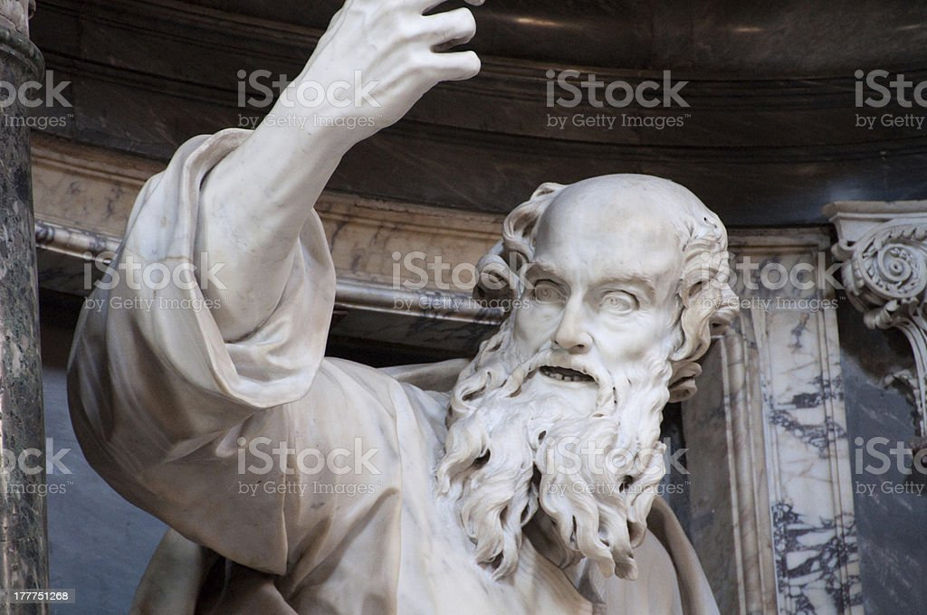 Moses royalty-free stock photo