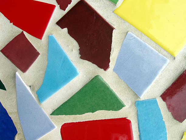 Mosiac Tile stock photo