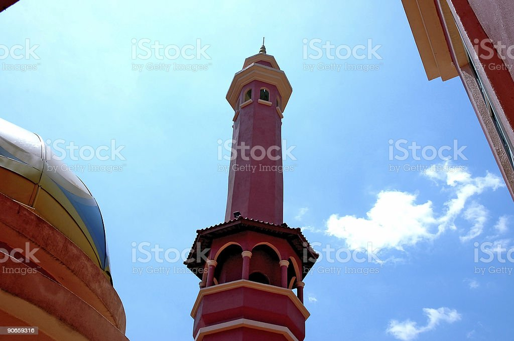 Mosque 2 stock photo