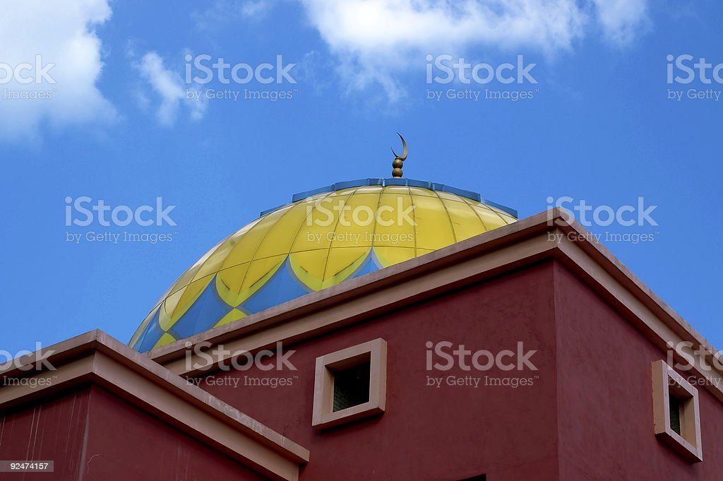 Mosque 5 royalty-free stock photo