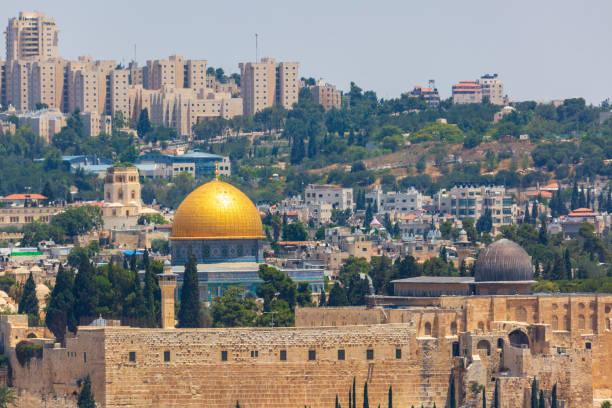 Mosque Al Aqsa on Temple mount Mosque Al Aqsa on Temple mount in Jerusalem east jerusalem stock pictures, royalty-free photos & images