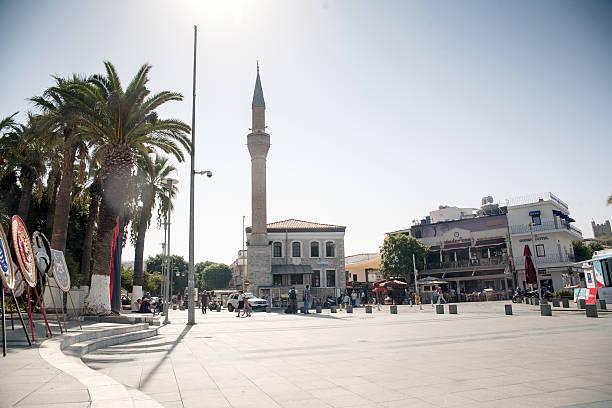 Mosque Bodrum Turkey. Touristic city. – zdjęcie