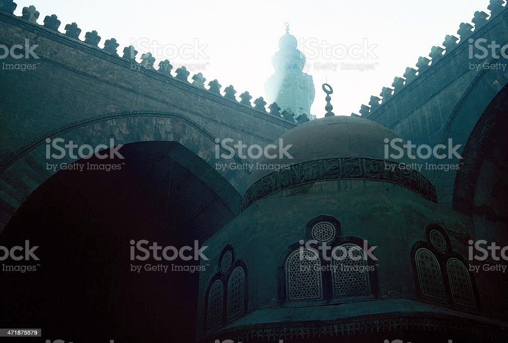 Mosque  - Cairo, Egypt royalty-free stock photo