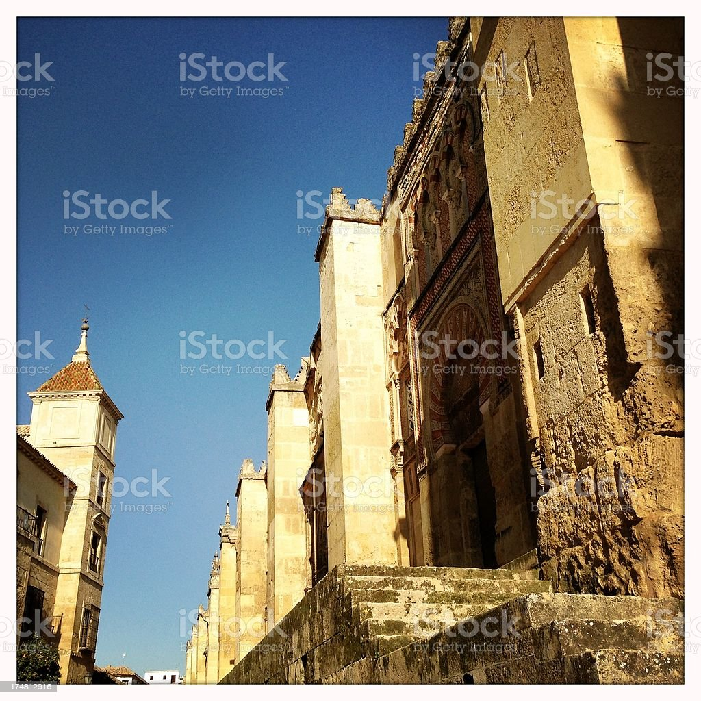 Mezquita Cathedral in Córdoba, Spain royalty-free stock photo