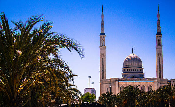 mosque el amir abd el kader costantine algeria - algeria stock photos and pictures