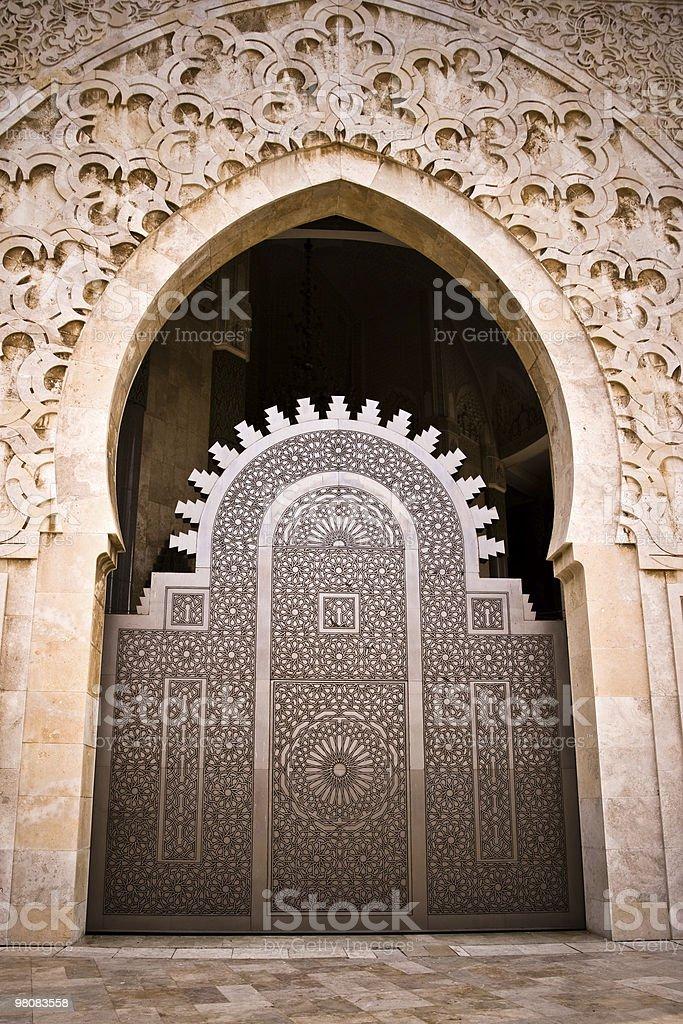 Moschea di ingresso foto stock royalty-free