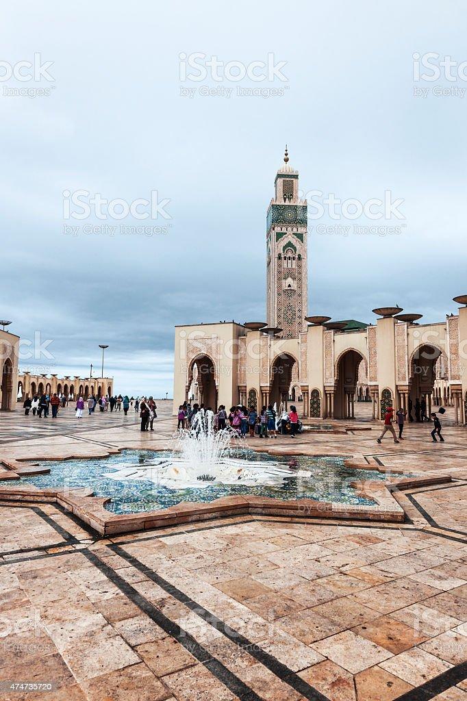 Mosque Hassan II Casablanca Morocco,North Africa stock photo