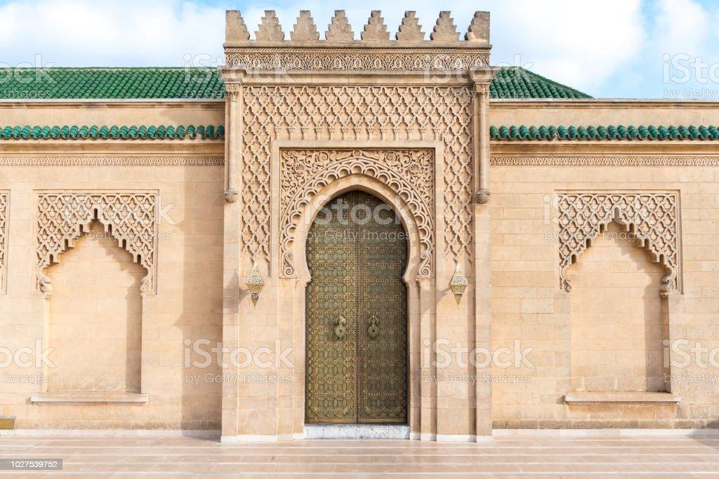 Mosque Hassan, Rabat, Morocco stock photo
