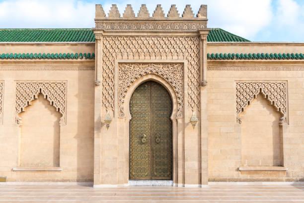 moskén hassan, rabat, marocko - rabat marocko bildbanksfoton och bilder