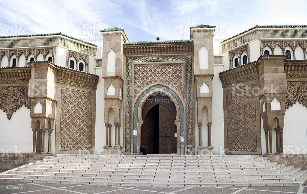 Mosque in Agadir, Morocco foto