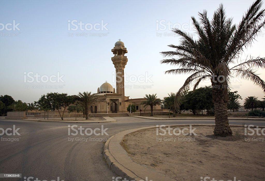 Mezquita en Bagdad Iraq - foto de stock