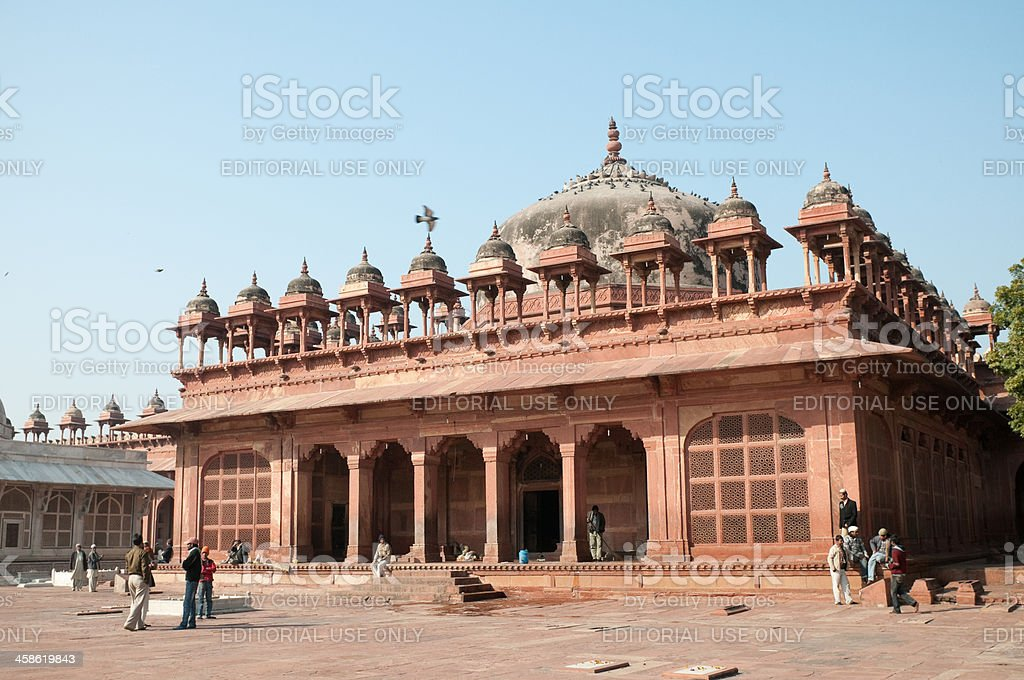 Mosque in Fatehpur Sikri, India stock photo