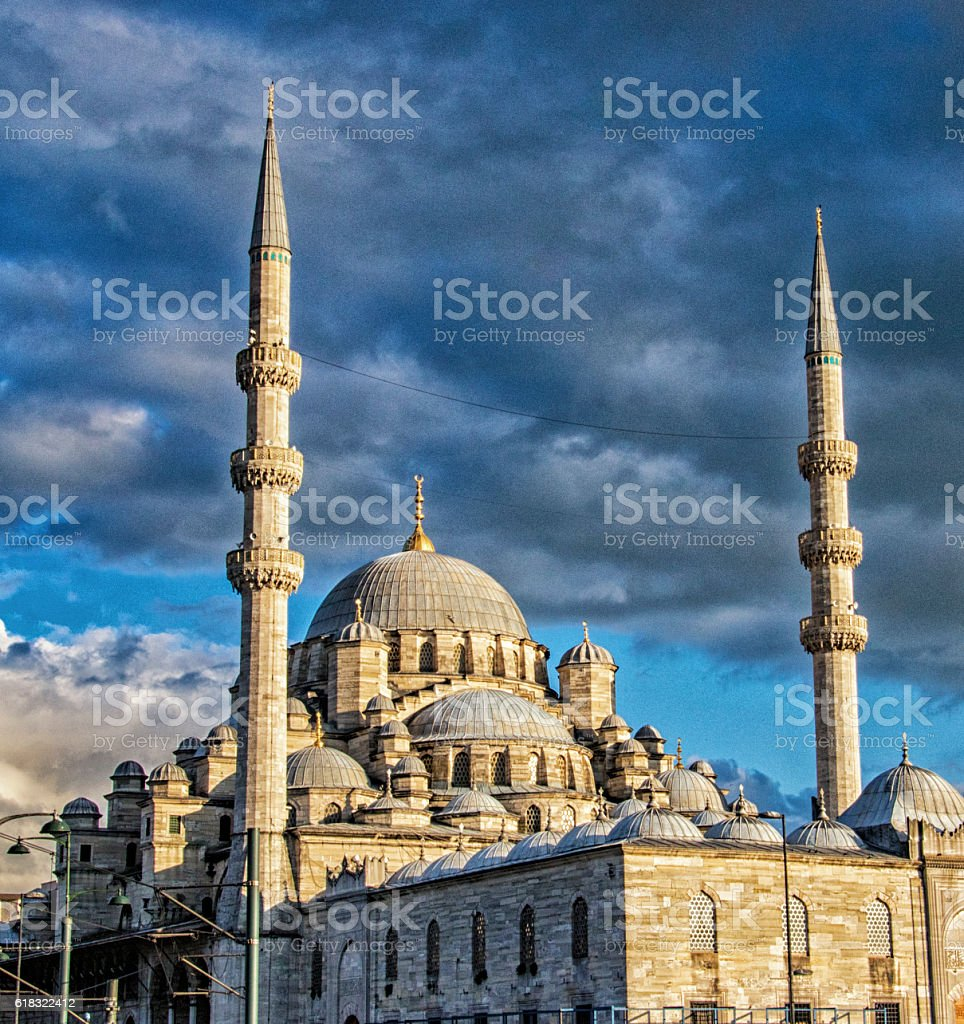 Mosque In Instanbul, Turkey stock photo
