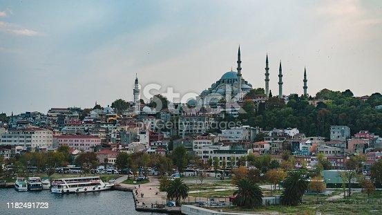 Mosque in Istanbul, tourism travel destination  süleymaniye