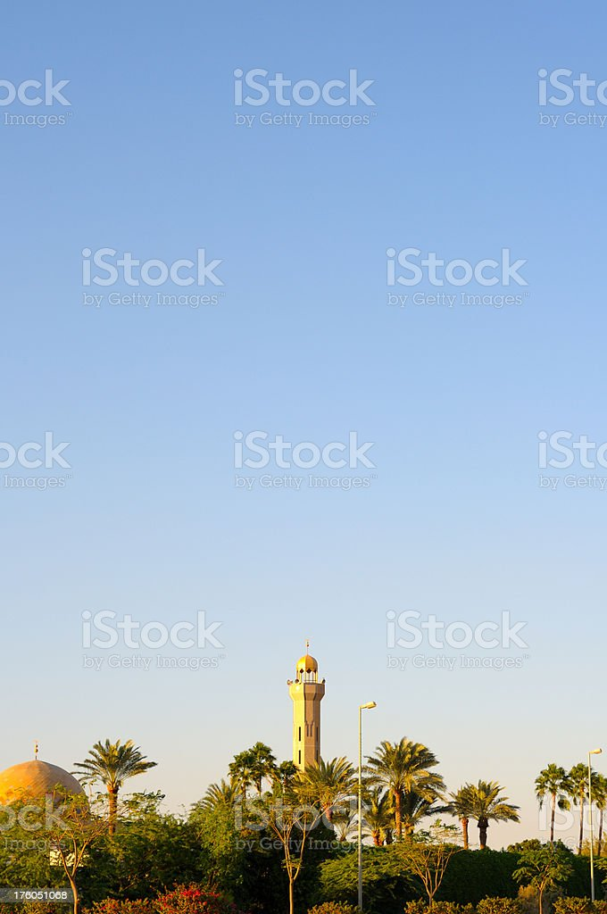 Mosque in Jeddah, Saudi Arabia stock photo