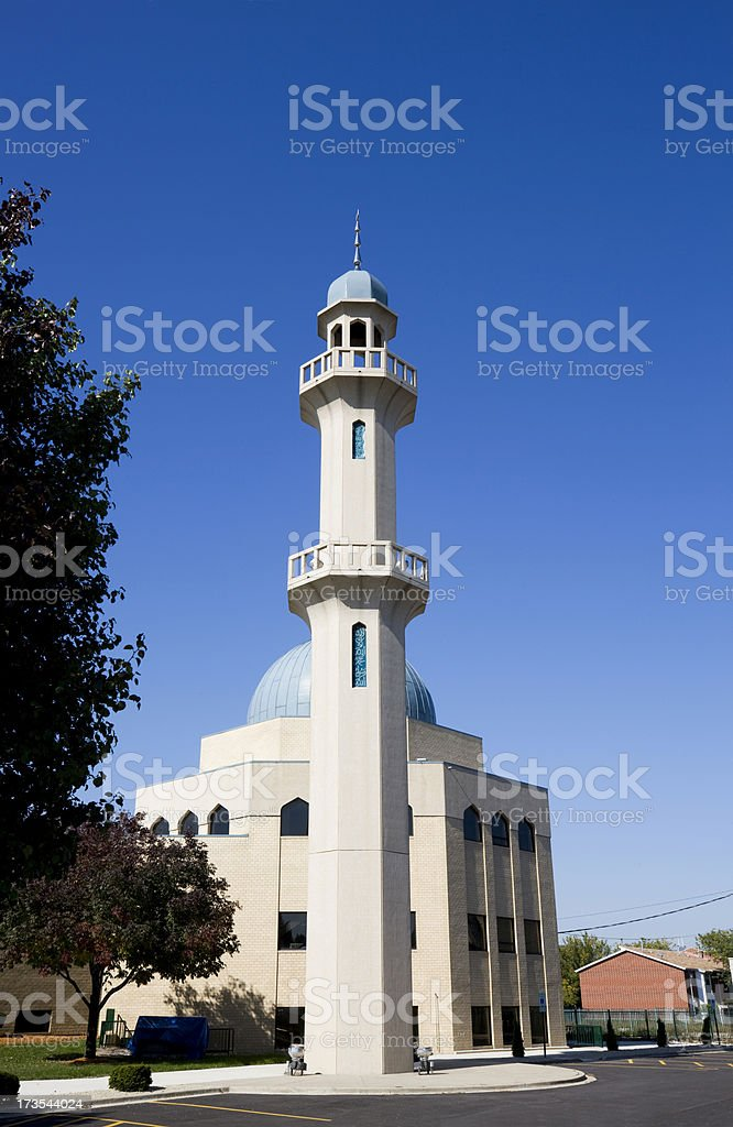 Mosque in Kenwood Chicago royalty-free stock photo