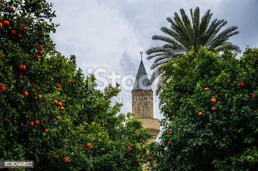 A mosque in Nicosia, Cyprus