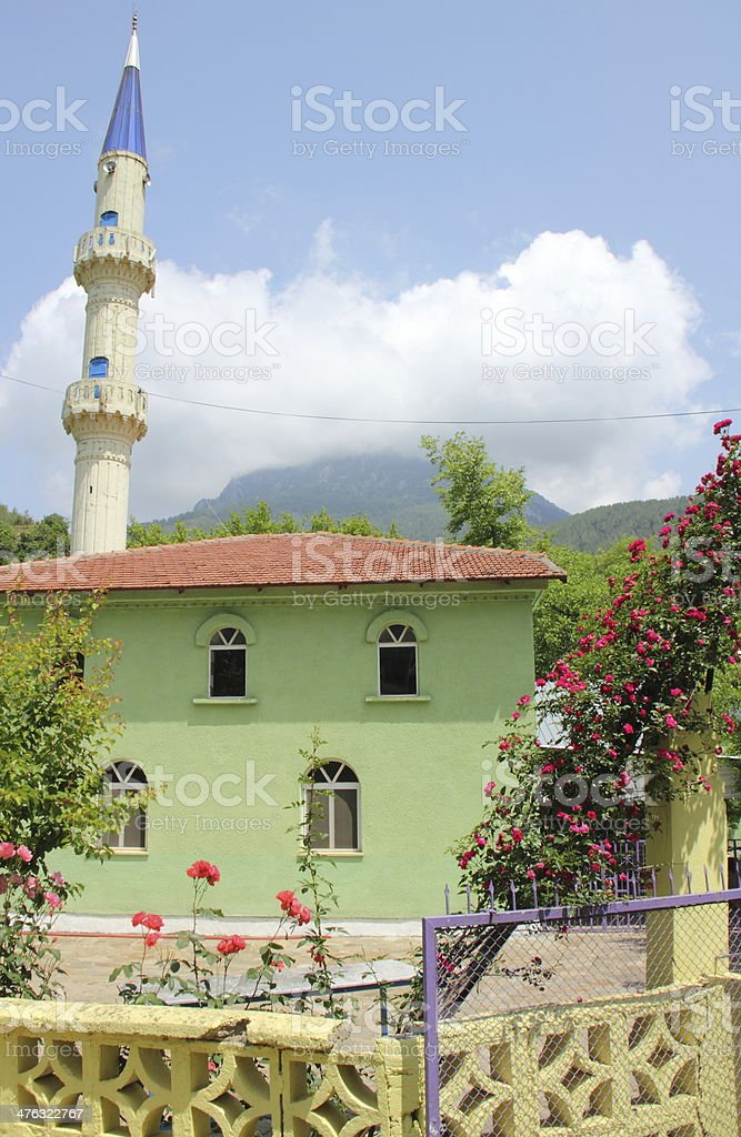 mosque in turkey royalty-free stock photo