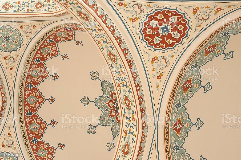 Mosque Interior stock photo