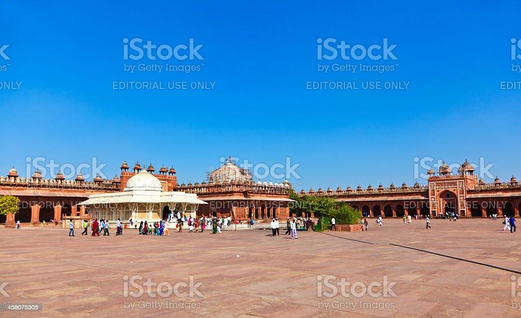 Mosque Jama Masjid in Fatehpur Sikri stock photo