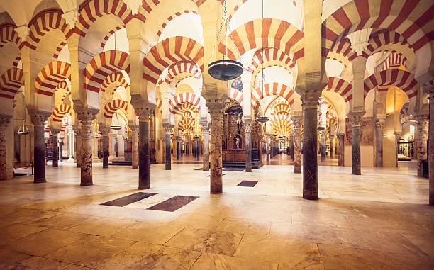 Mosque of Cordoba stock photo