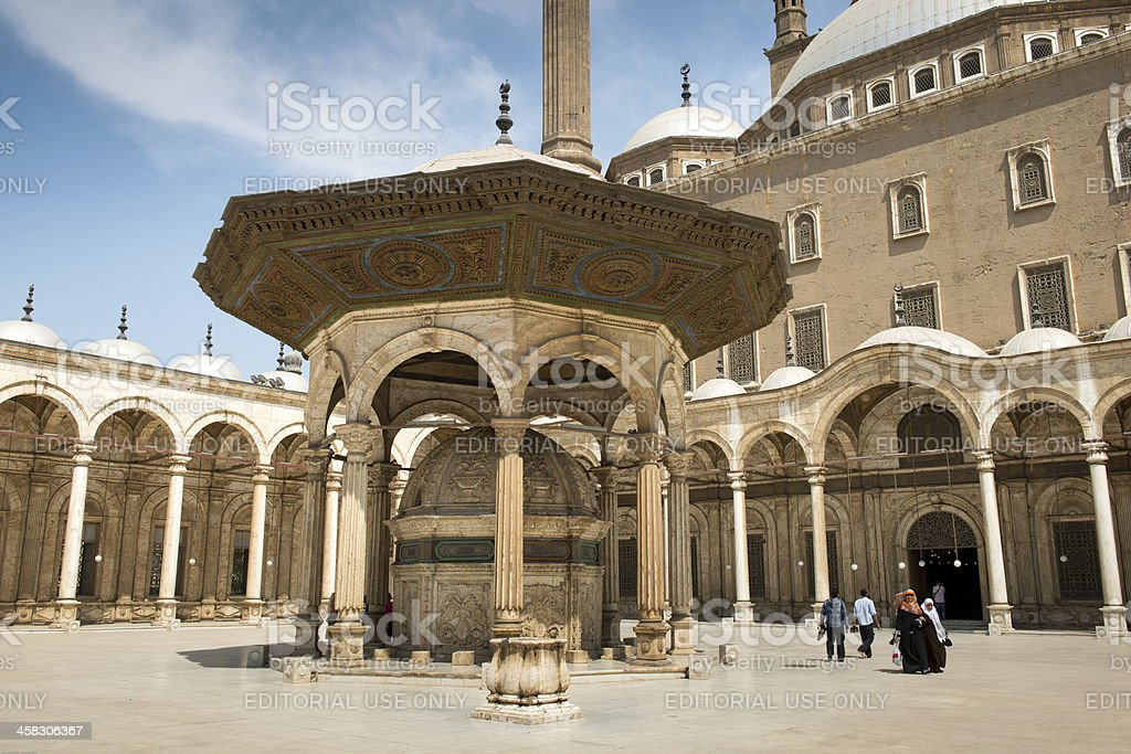 Mosque of Muhammad Ali royalty-free stock photo