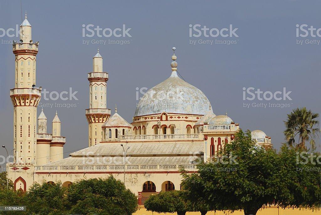 Mosque of Touba royalty-free stock photo