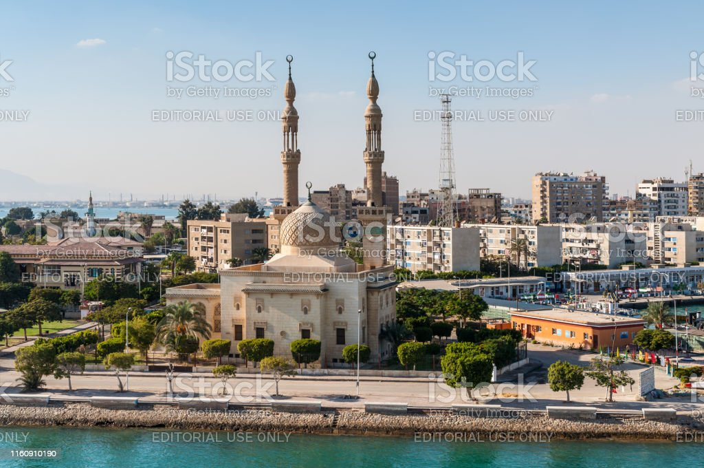 Mosque On The Suez Canal In Egypt Stock Photo Download Image Now Istock