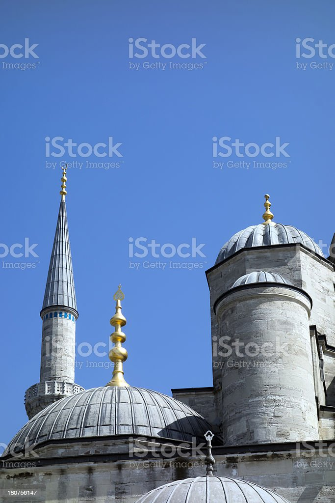 Mosque Sultan Ahmed, Blue Mosque. Istanbul.Turkey royalty-free stock photo