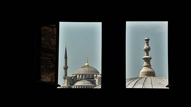 Mosque view 01 stock photo