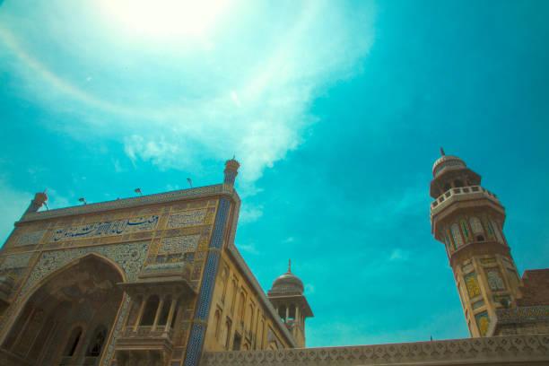 Mosque Wazir Khan stock photo