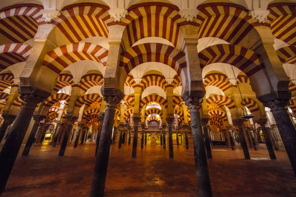 Mezquita-Catedral de Córdoba A wonderful building of Cordoba's most famous Mezquita cordoba mosque stock pictures, royalty-free photos & images