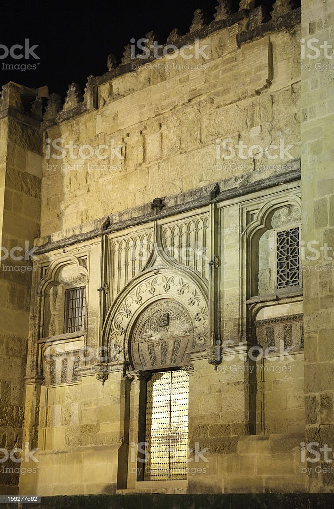 Mosque-Cathedral of Cordoba, Spain royalty-free stock photo