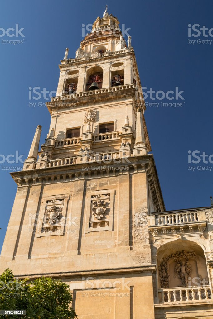 Mosque-Cathedral of Córdoba stock photo