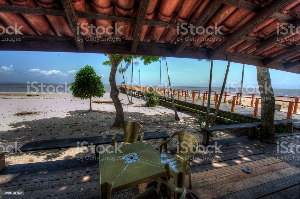 Mosqueiro Island, Belem, Para stock photo