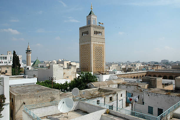 Mosques in the Medina of Tunis - foto de stock