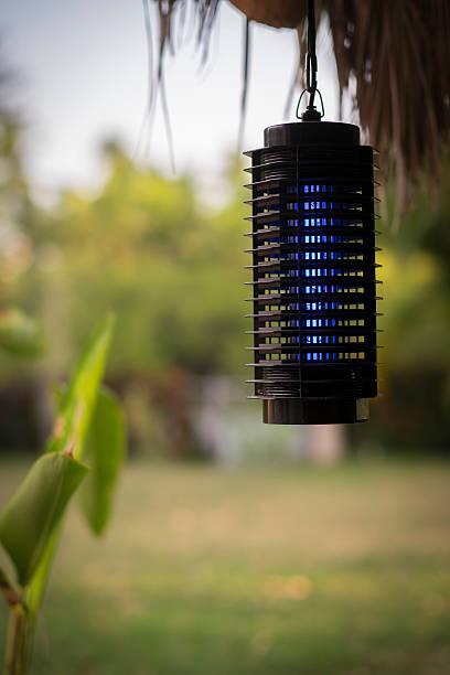 Mosquito trap, electric zapper stock photo