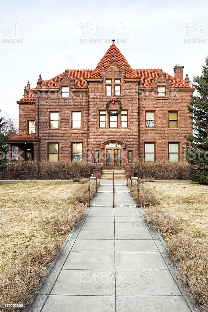 Moss Mansion - Billings, Montana stock photo