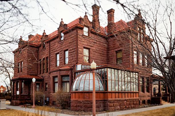 Moss Mansion - Billings, Montana stock photo