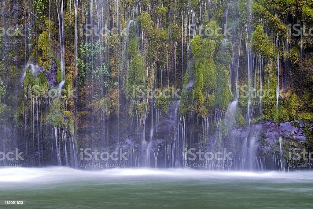 Mossbrae Falls stock photo