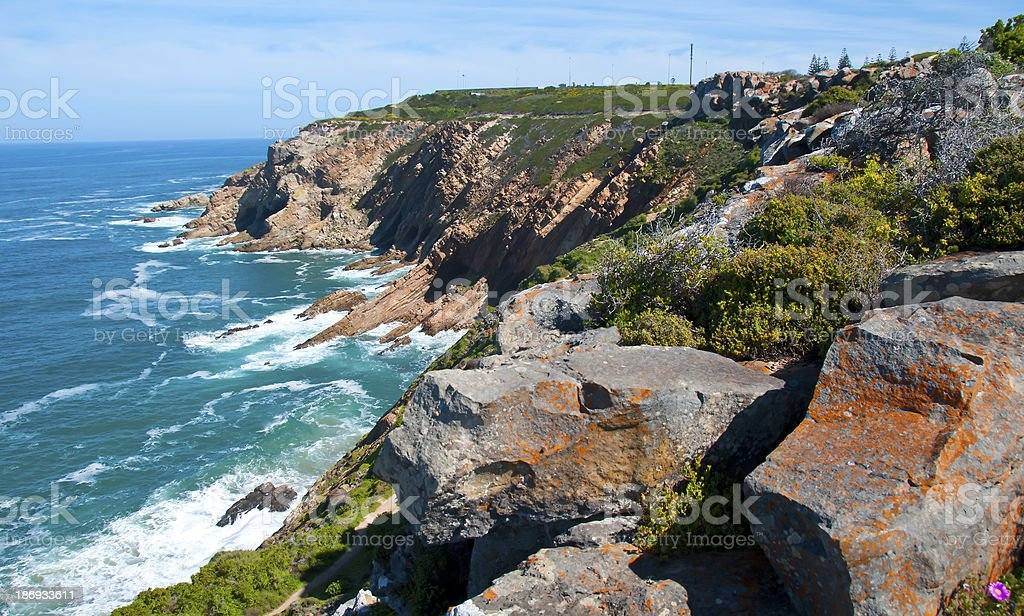 Mossel Bay Coastline -  South Africa stock photo