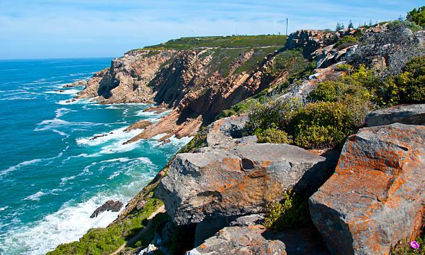 Mossel Bay Coastline -  South Africa stock photo