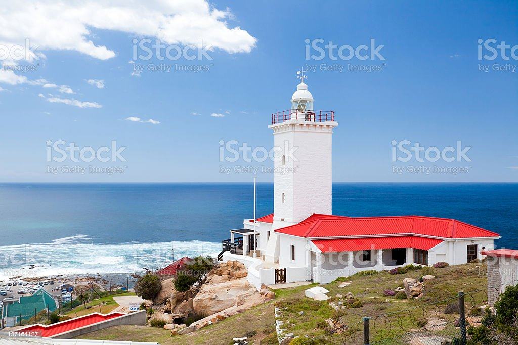 Mossel bay, south africa lighthouse in Mossel bay, south africa Beach Stock Photo