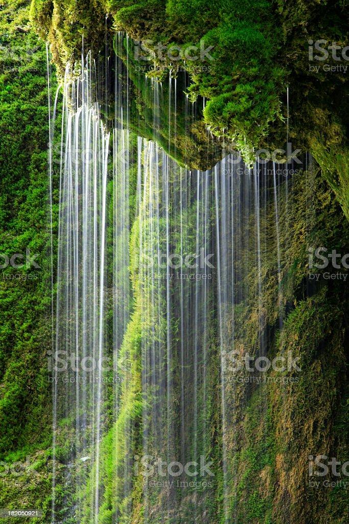 Mossy Waterfall royalty-free stock photo